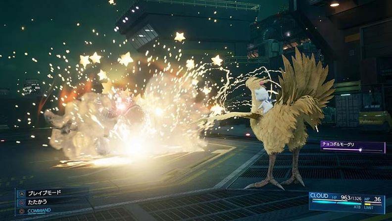Fami通出《最终幻想7:重制版》战斗系统细节